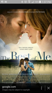 Favorite Movie - The Best of Me
