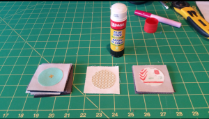Glue basting